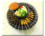Satay Set B - Chicken+Mutton